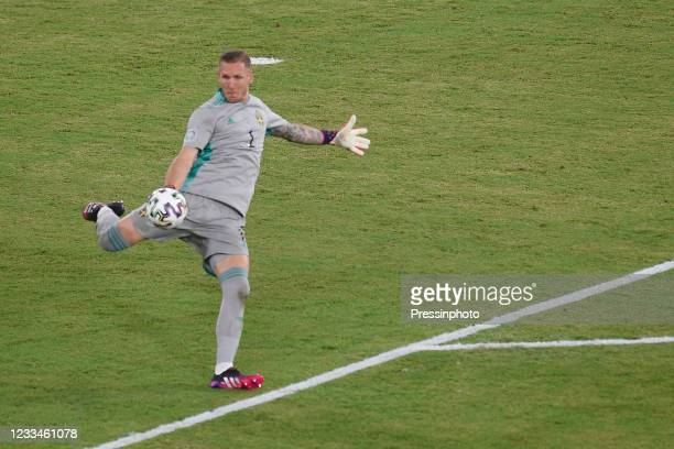 Robín Patrick Olsen of Sweden during the match between Spain and Sweden of Euro 2020, group E, matchday 1, played at La Cartuja Stadium on June 14,...