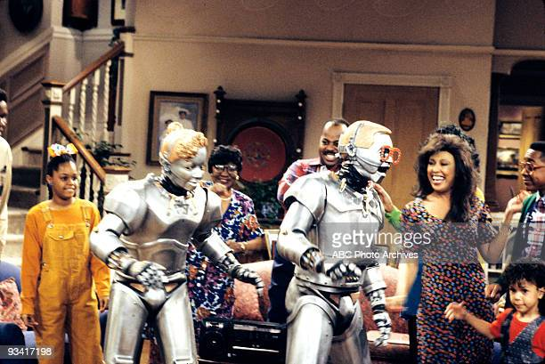 MATTERS RoboNerd II Season Three 4/24/92 A new shampoo caused Estelle and Rachel to lose their hair and Urkel revived Urkelbot to solve a rash of...
