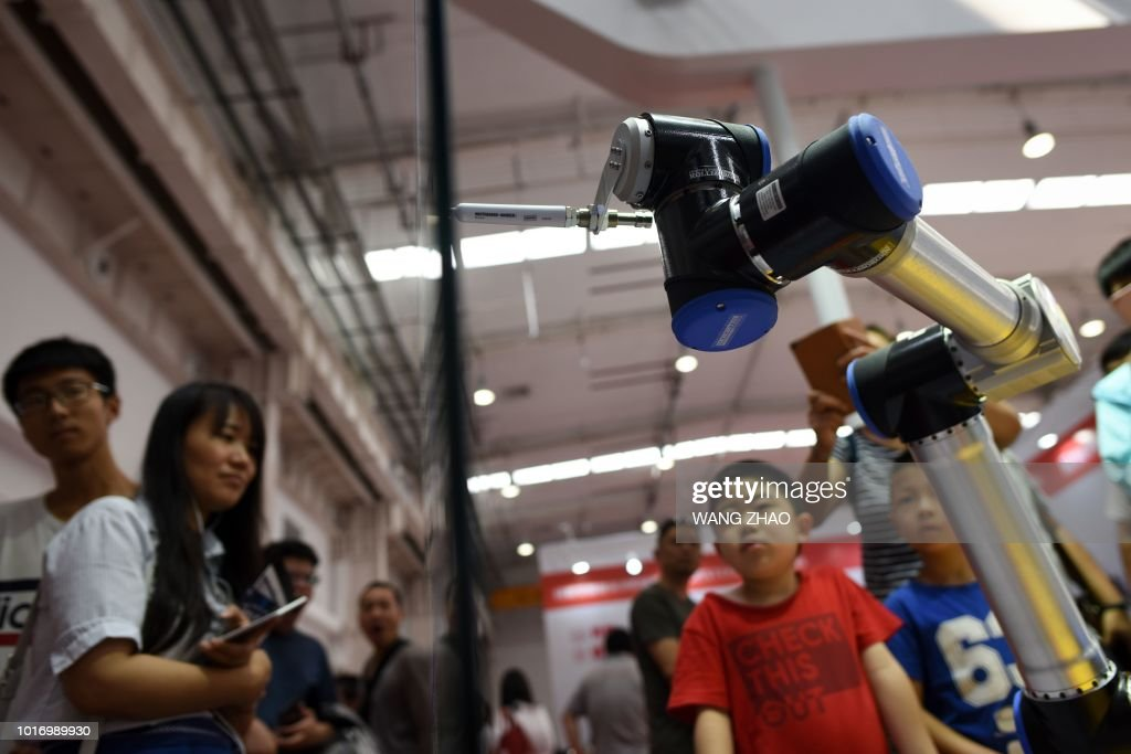 CHINA-TECHNOLOGY-ROBOT : News Photo