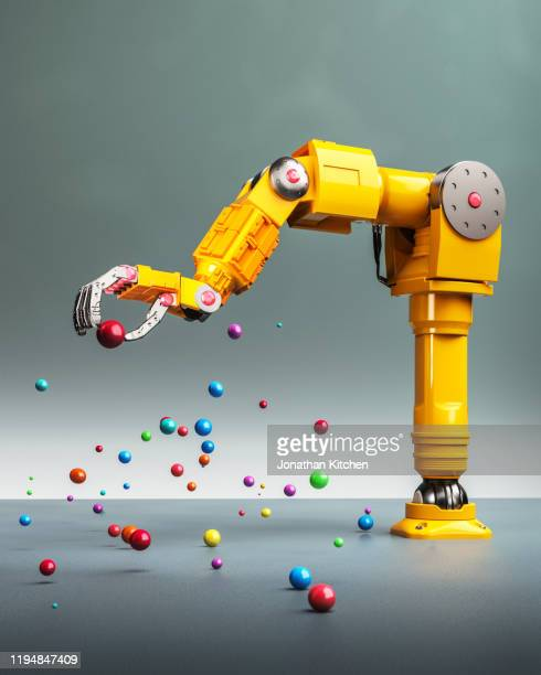 robot arm selection - robot stock pictures, royalty-free photos & images