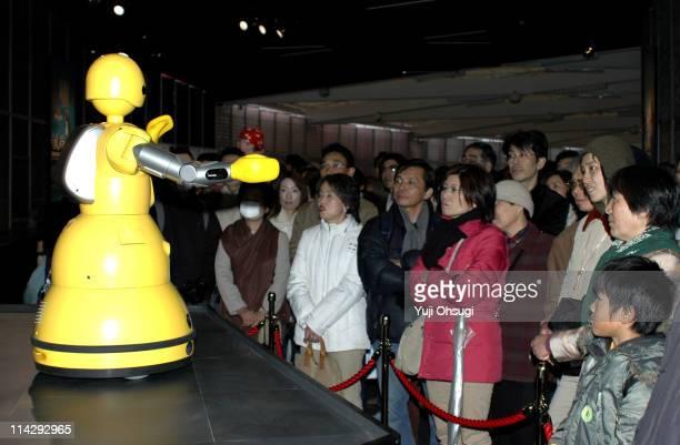 MC Robot at Mitsubishi Pavilion @ Earth during EXPO 2005 AICHI Japan Pavilion Zone at Aichi Expo in Nagakute Japan