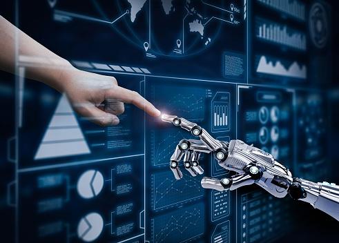 robot connect human 914327272