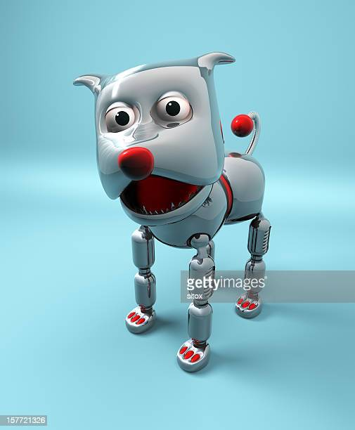 Robot Dog (clipping path)