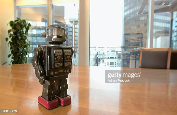 Robot on table