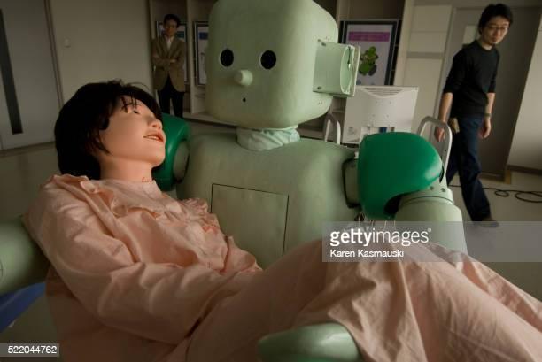 Robot prototype being developed in Japan