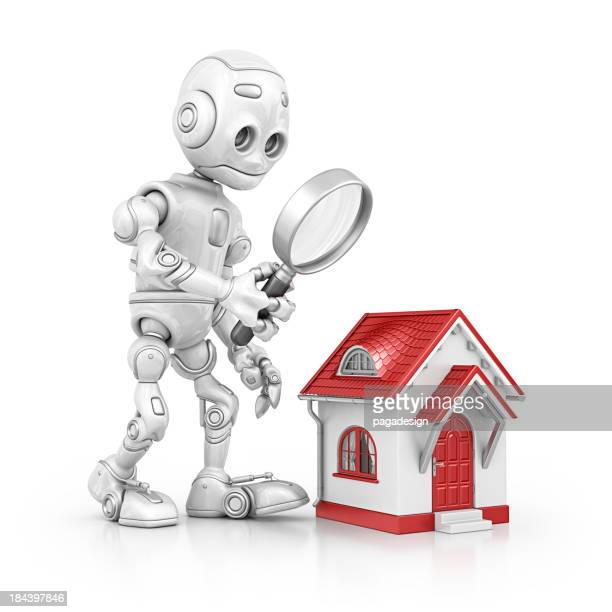 Roboter Suche nach Hause