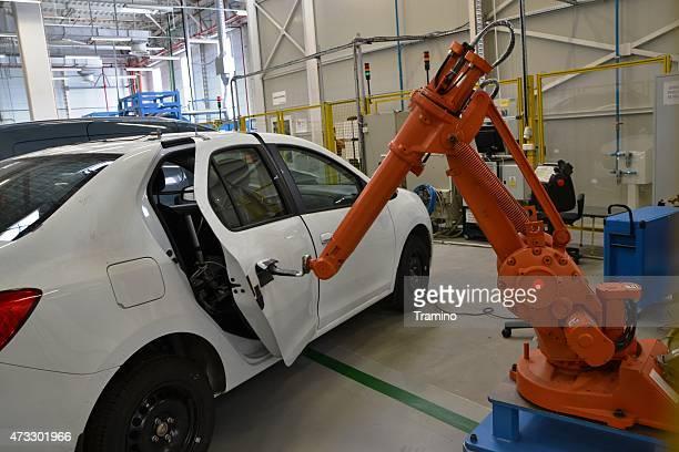 Robot to car door tests
