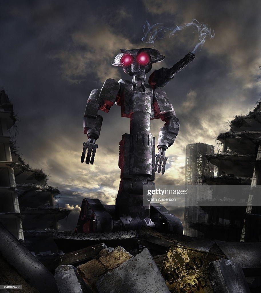 robot wars : Stock Photo