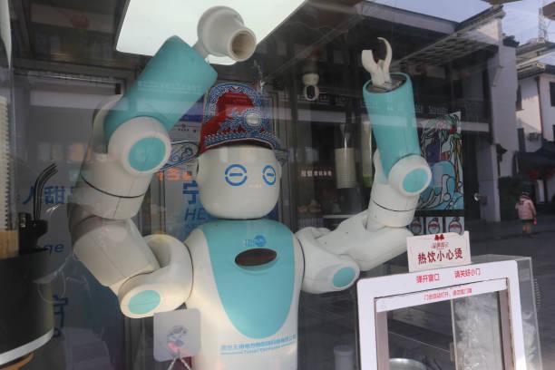 CHN: Robot Drink Station In Nanjing