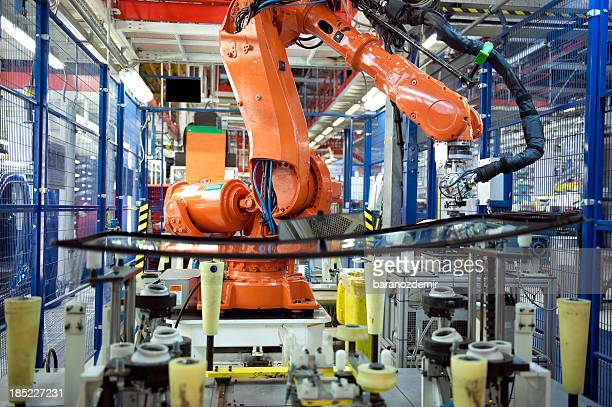 Industrieroboter-Arm, Auto Manufacturing