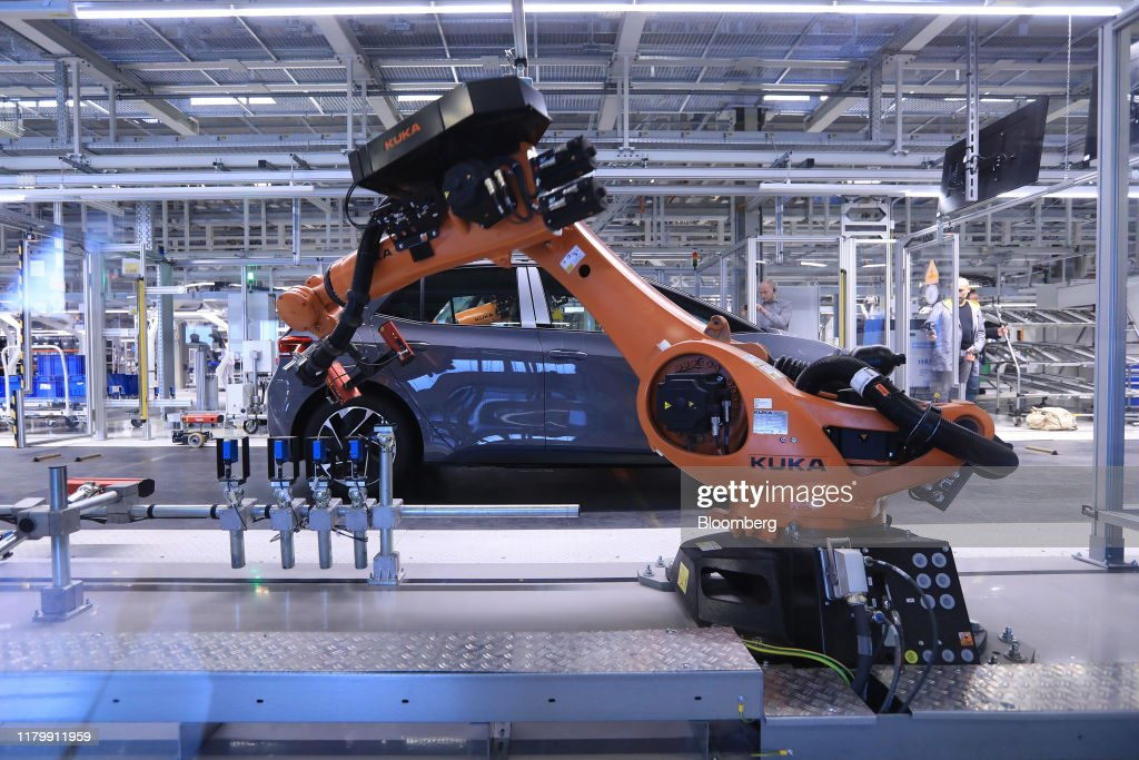 Volkswagen AG Begins Mass-Market Production Of The VW ID.3 Electric Automobile : ニュース写真