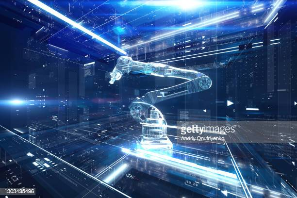robotic arm - robot stock pictures, royalty-free photos & images