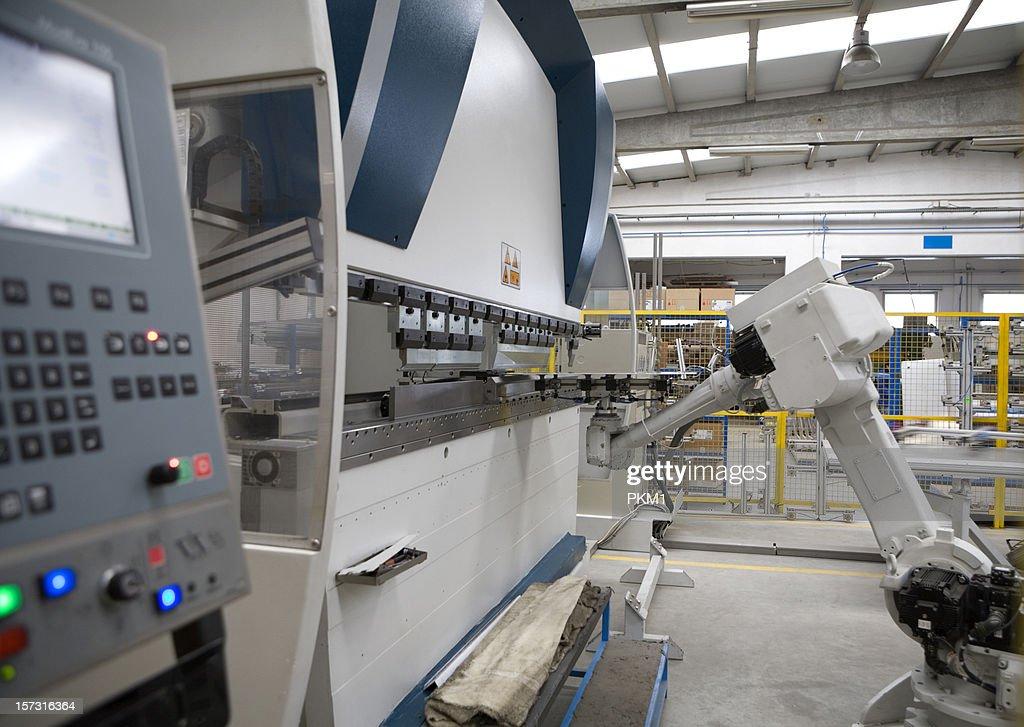 Robotic Bending Machine : Stock Photo