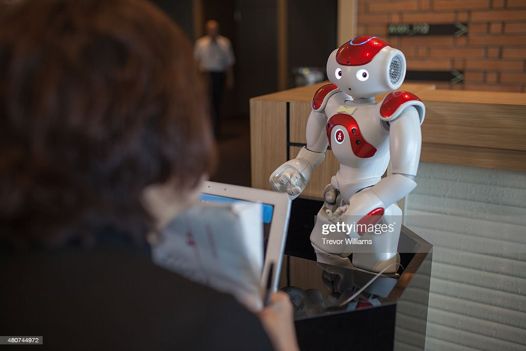 a robotic concierge handles guests questions at the henna hotel weird hotel in huis - Multi Hotel 2015