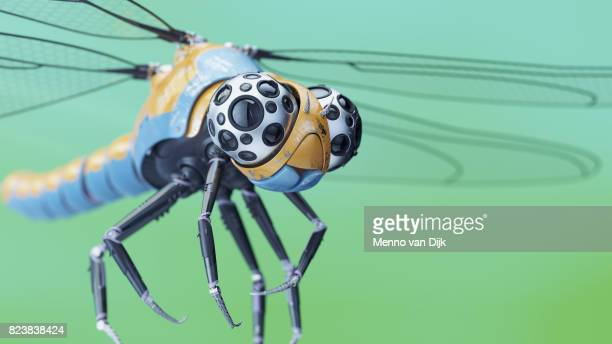 robotic dragonfly - fly insect stock pictures, royalty-free photos & images