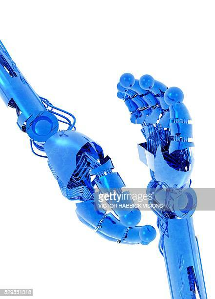 Robotic hands, artwork