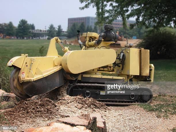 Robotic Stump Grinder