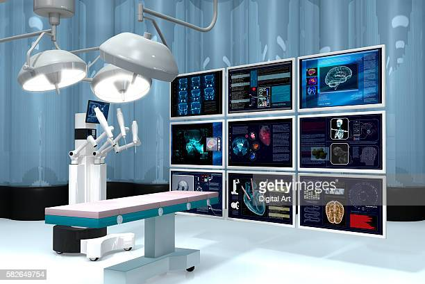 Robotic Surgery With 9 Screens