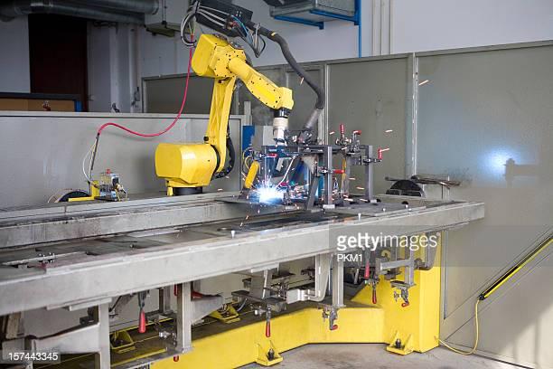 Industrieroboter-Schweißen Machine