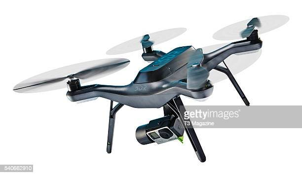 Robotics Solo drone fitted with a GoPro Hero 4 action camera taken on November 3 2015