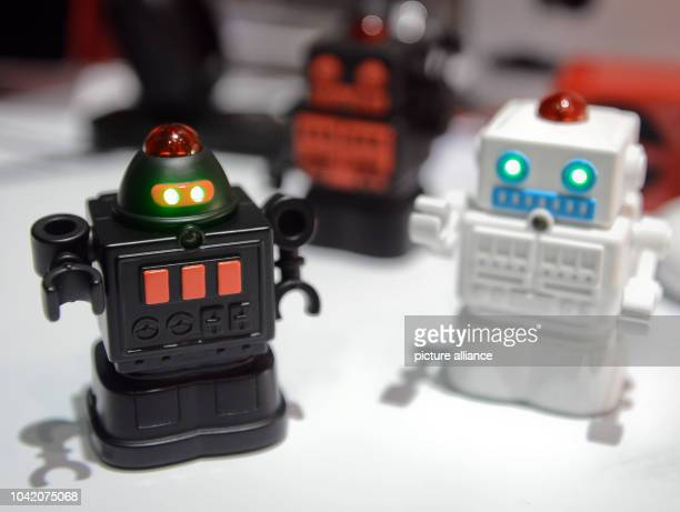 Robots of company BeeWi are shown during the event 'Unveiled' at Consumer Electronics Show CES in Las Vegas USA 05 January 2014 The fair officially...