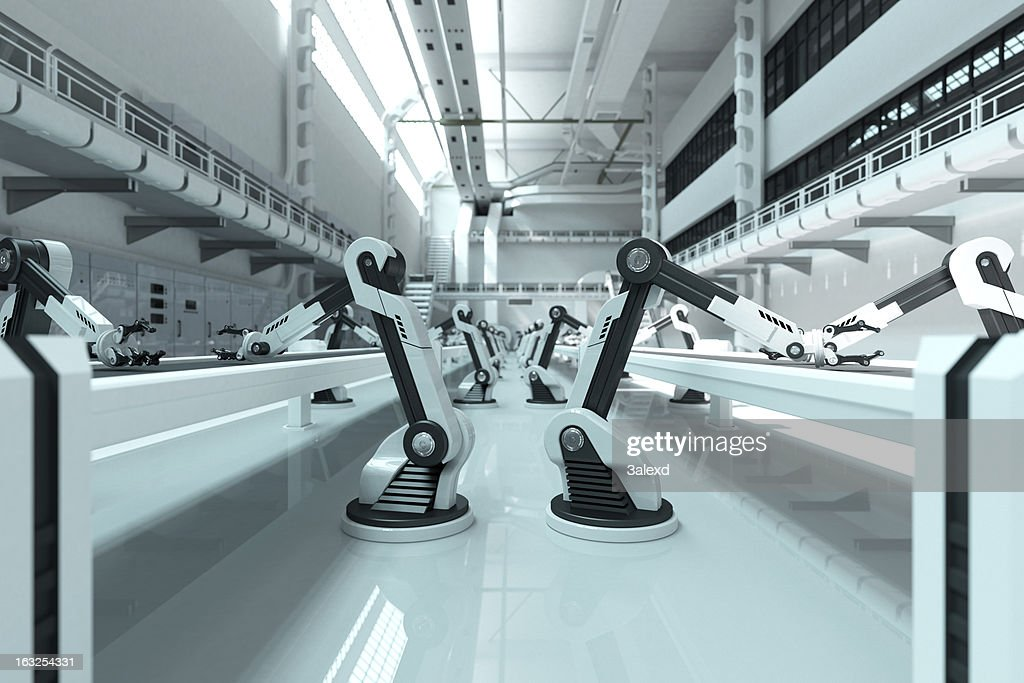 Robots : Stock Photo