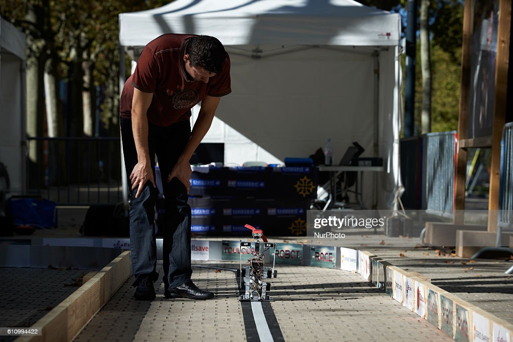 Robot Race in Toulouse : Photo d'actualité