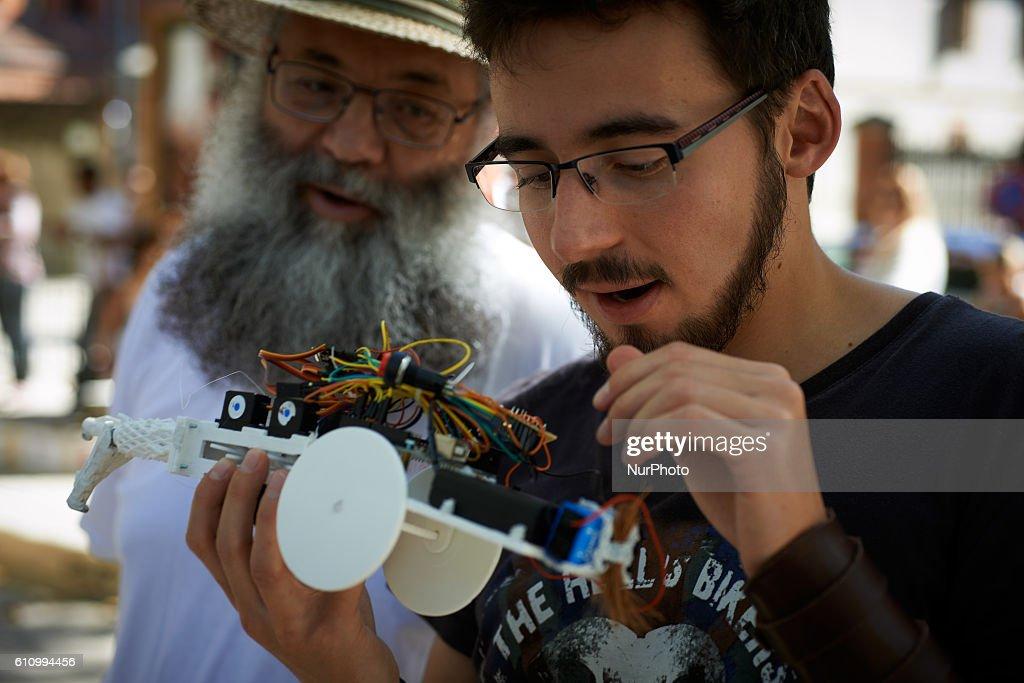 Robot Race in Toulouse : Nachrichtenfoto