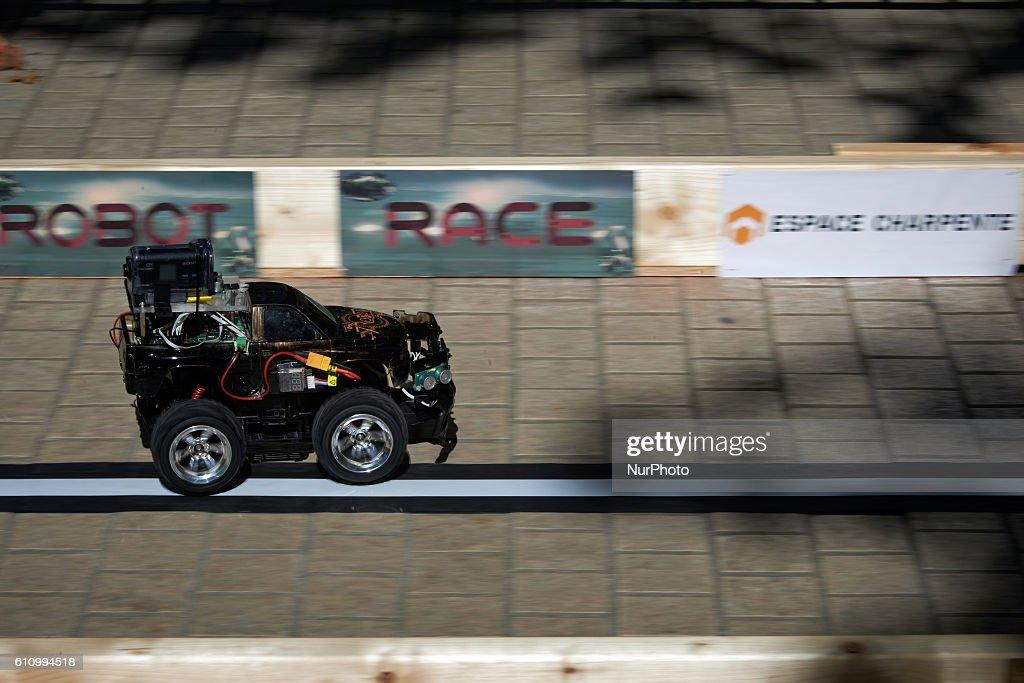 Robot Race in Toulouse : Foto jornalística
