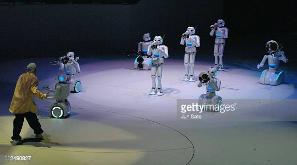 Robots show Toyota Motor Pavilion during EXPO 2005 AICHI Japan Pavilion Zone at Aichi Expo in Nagakute Japan