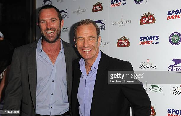 Robson Green attends a party hosted by Slazenger during the Wimbledon tennis championships at Whisky Mist on June 27 2013 in London England