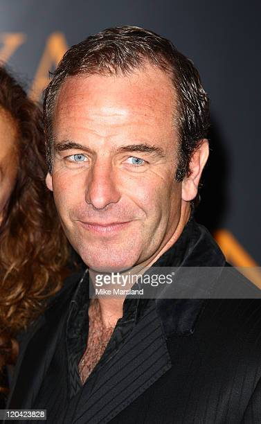 Robson Green attends the Royal Television Society Programme Awards at Grosvenor House Hotel on March 17 2009 in London England