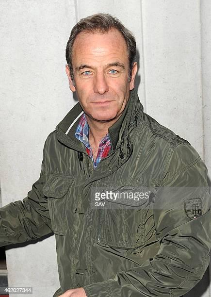 Robson Green sighting at BBC Radio 2 on January 23 2015 in London England