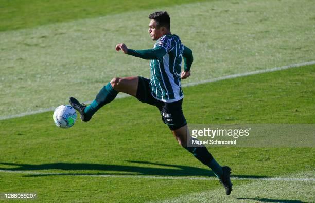 Robson of Coritiba control the ball during a match between Red Bull Bragantino and Coritiba as part of Brasileirao Series A 2020 at Nabi Abi Chedid...
