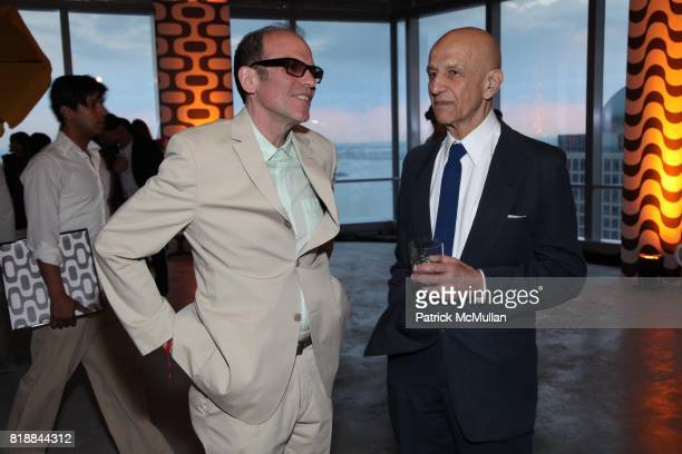 Roby Wynne and Alex Katz attend New Museum Spring Gala and After Party Sponsored by Interview Magazine Melissa Shoes and Prairie Vodka at 7 World...
