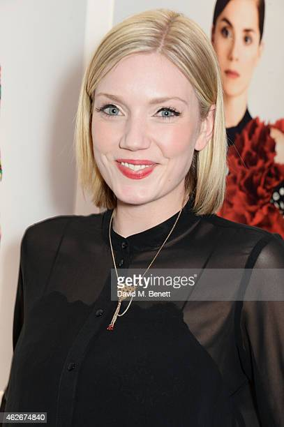 Robyn Addison attends the InStyle and EE Rising Star Party in association with Lancome Karen Millen and Sky Living at The Ace Hotel on February 2...