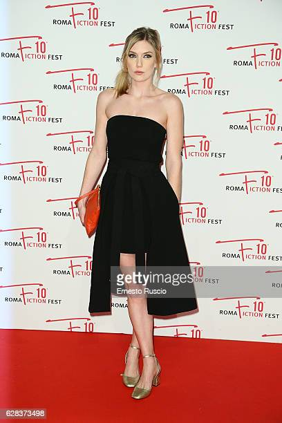 Robyn Addison attends the Opening Ceremony of Roma Fiction Fest 2016 at The Space Moderno on December 7 2016 in Rome Italy