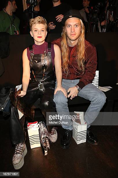 Robyn and Max Vitali attend the Jean Paul Gaultier Fall/Winter 2013 ReadytoWear show as part of Paris Fashion Week on March 2 2013 in Paris France