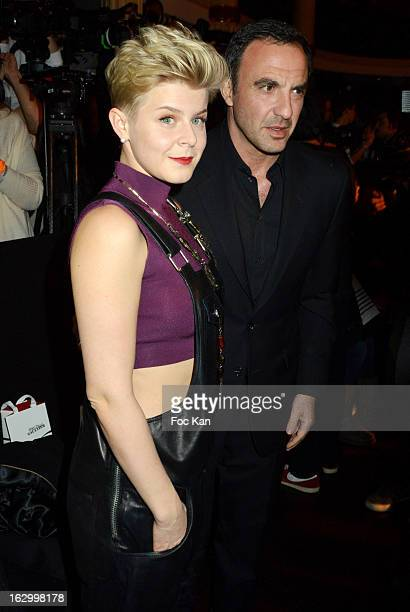 Robyn Êand Max VitaliÊ attend the Jean Paul Gaultier Fall/Winter 2013 ReadytoWear show as part of Paris Fashion Week at Sall Wagram on March 2 2013...