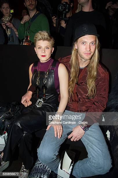Robyn and Max Vitali attend the JeanPaul Gaultier Fall/Winter 2013/14 ReadytoWear show as part of Paris Fashion Week in Paris