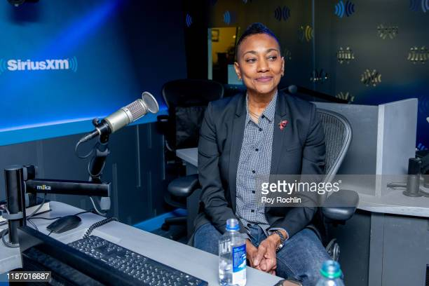 Robyn Crawford discusses her book A Song For You as she visits SiriusXM Studios on November 11 2019 in New York City
