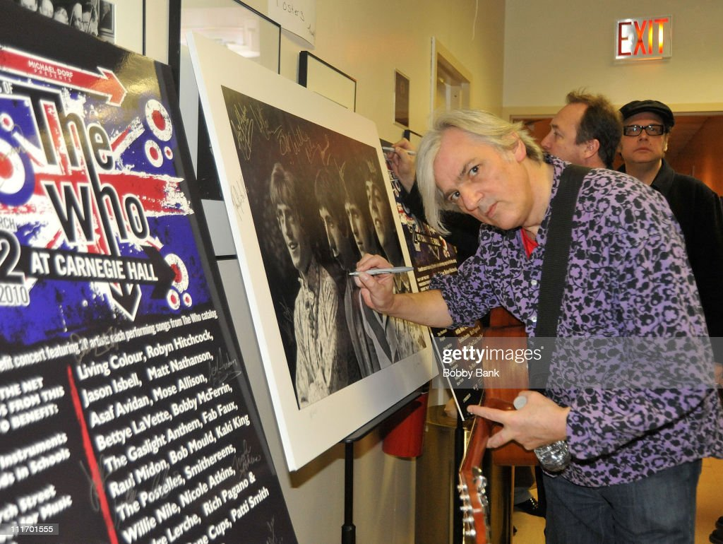 Music Of The Who At Carnegie Hall - Backstage : News Photo