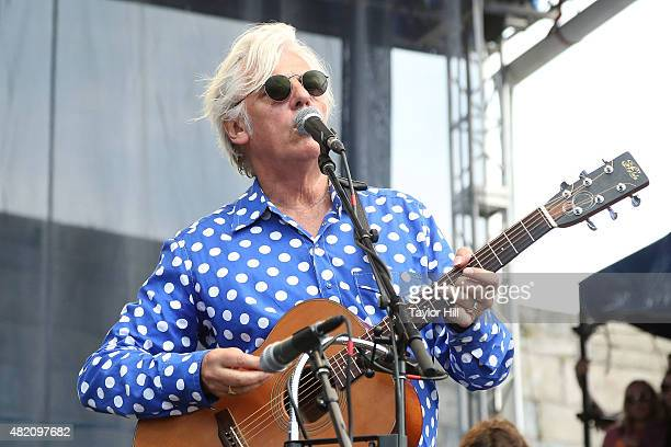 Robyn Hitchcock performs as part of ''65 Revisited' in celebration of the 50th anniversary of Bob Dylan going electric at Newport at the 2015 Newport...