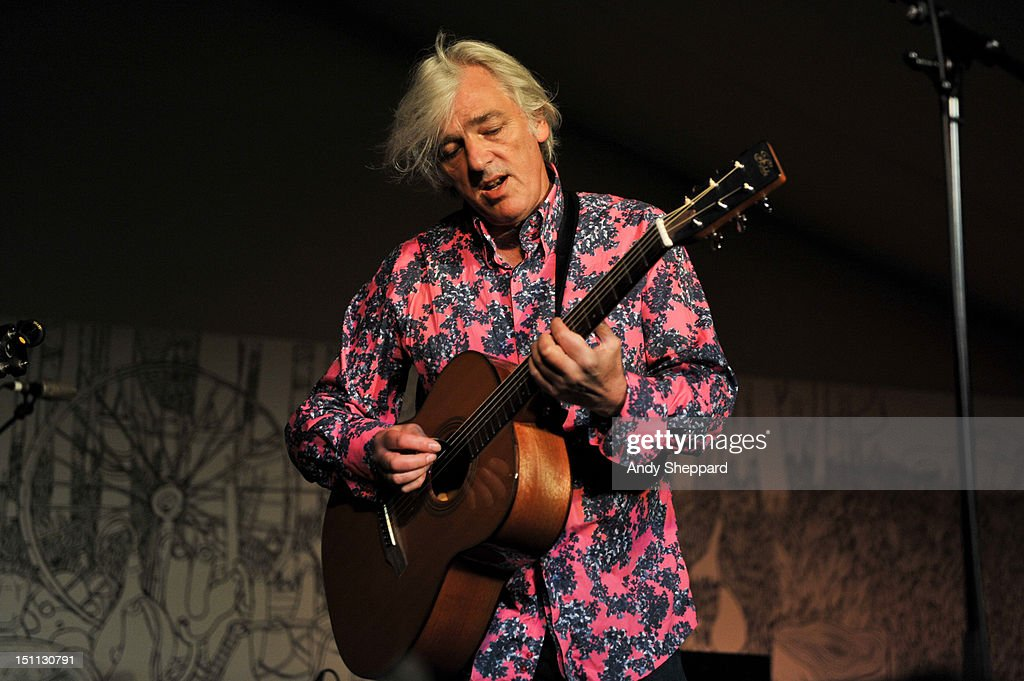 Robyn Hitchcock performs on stage during End Of The Road Festival 2012 at Larmer Tree Gardens on September 1, 2012 in Salisbury, United Kingdom.
