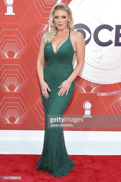 Robyn Hurder attends the 74th Annual Tony Awards at Winter Garden Theater on September 26, 2021 in New York City.