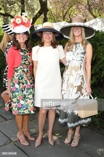 Robyn Joseph Lisa McCarthy and Shelly Carr at 36th Annual Frederick Law Olmsted Awards Luncheon Central Park Conservancy at The Conservatory Garden...