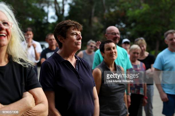 Robyn Kennedy and fellow 78ers during Mardi Gras rehearsals on March 1 2018 in Sydney Australia The Sydney Mardi Gras parade began in 1978 as a march...