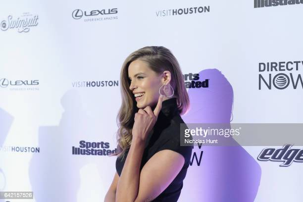 1aa1a00d573 Robyn Lawley attends Sports Illustrated Swimsuit 2017 NYC launch event at  Center415 Event Space on February