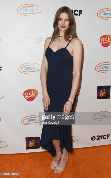 Robyn Lawley attends the Lupus LA's 2018 Orange Ball at the Beverly Wilshire Four Seasons Hotel on May 3 2018 in Beverly Hills California