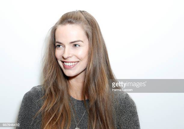Robyn Lawley poses at the Cosmo Curve casting on March 17 2018 in Sydney Australia
